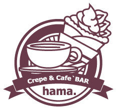 Crepe&Cafe'BAR hama.